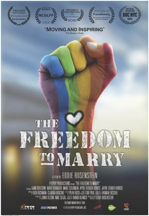 The Freedom to Marry poster