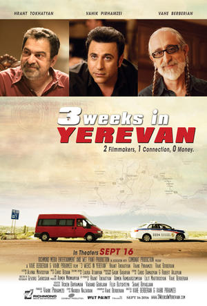 3 Weeks in Yerevan poster