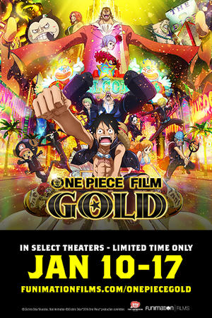 One Piece Film: Gold poster