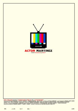 Actor Martinez poster