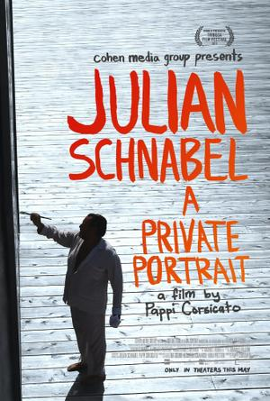 Julian Schnabel: A Private Portrait poster