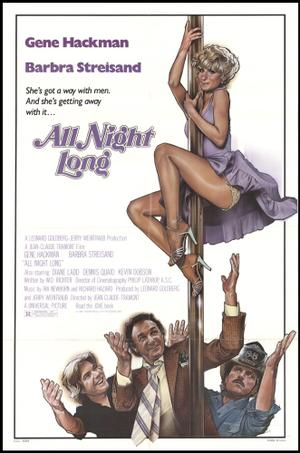 All Night Long (1981) poster