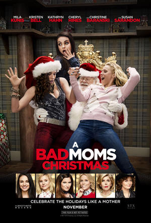 A Bad Moms Christmas (2017) poster