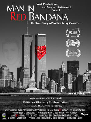 Man in Red Bandana poster