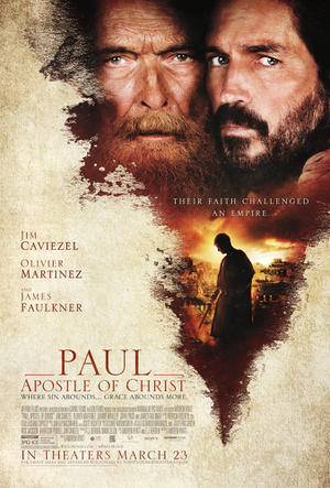 Paul, Apostle of Christ poster