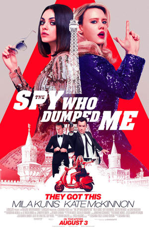 The Spy Who Dumped Me poster
