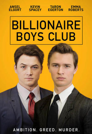 Billionaire Boys Club (2018) poster