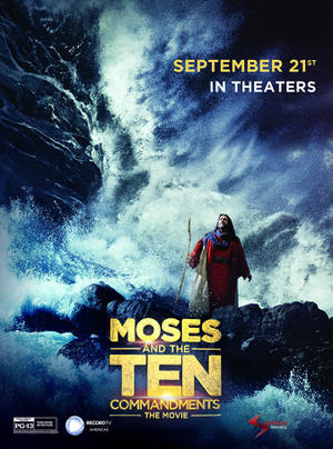 Moses and the Ten Commandments: The Movie poster