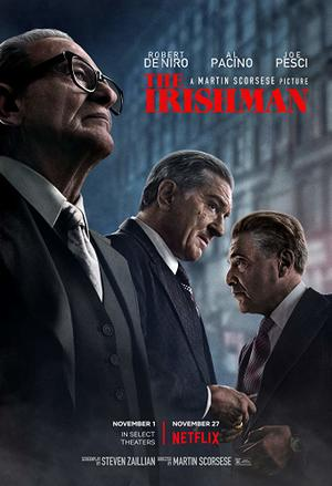 The Irishman (2019) poster