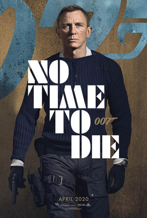 No Time to Die (2020) poster