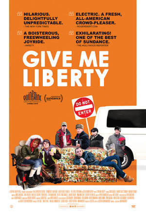 Give Me Liberty (2019) poster