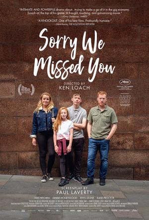 Sorry We Missed You (2020) poster