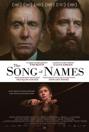 The Song of Names poster