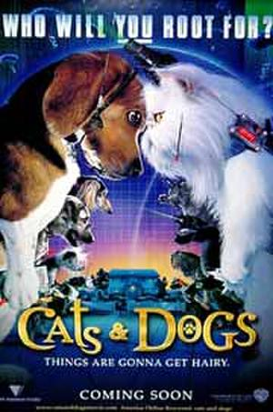 Cats & Dogs (2001) poster