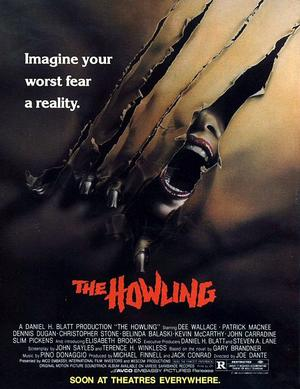 Terror Tuesday: The Howling poster