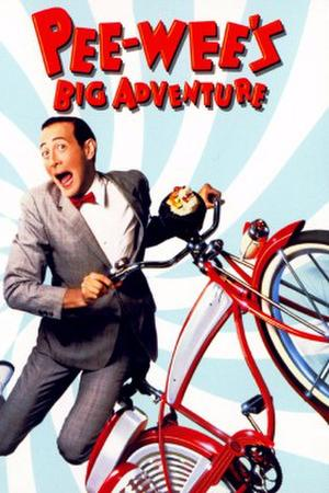 Pee Wee's Big Adventure poster