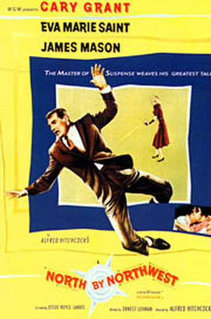 North by Northwest (1959) poster