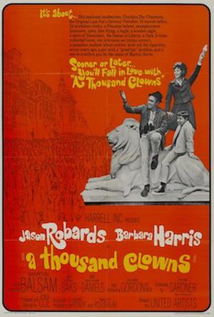 A Thousand Clowns poster