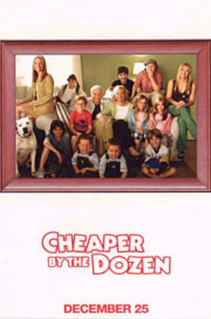 Cheaper by the Dozen (2003) poster