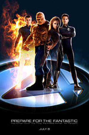 Fantastic Four (2005) poster