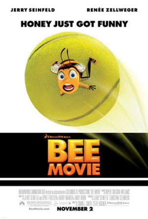 The Bee Movie poster