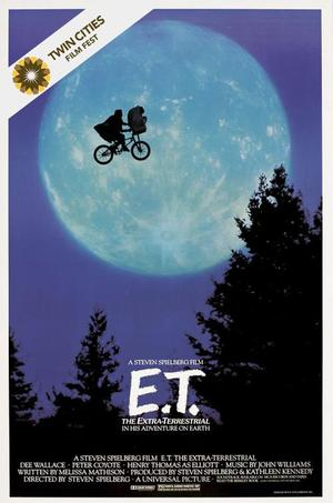 E.T. the Extra-Terrestrial (1982) poster