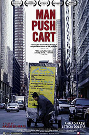 Man Push Cart poster