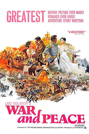 War and Peace (1967) poster