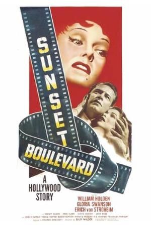 Sunset Blvd. (1950) poster