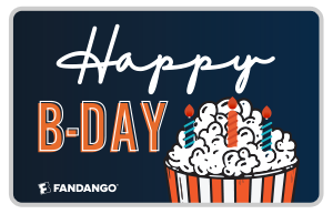 Fandango Birthday Gift Card