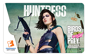 Huntress Birds of Prey Gift
