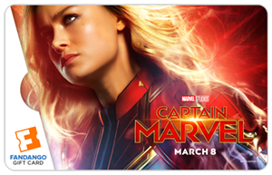 Captain Marvel Gift Card