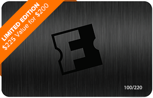 Platinum Exclusive Black Fandango Gift Card