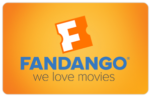 Fandango We Love Movies Gift Card