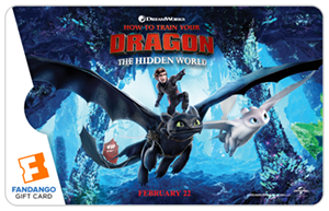 HTTYD Toothless Movie Gift Card