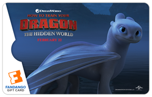 Light Fury HTTYD Gift Card