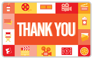 Fandango Thank You Gift Card