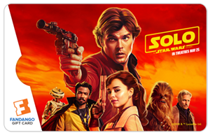 Solo Star Wars Card