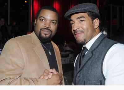 Ice Cube And Director Erik White At The After Party Of California Premiere