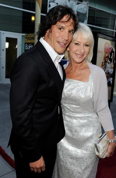 Sergio Peris Mencheta And Helen Mirren At The California Premiere Of Love Ranch