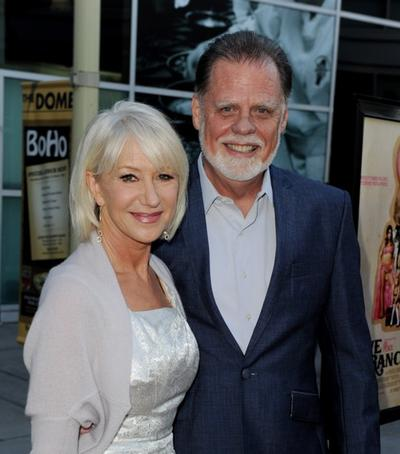 Helen Mirren And Taylor Hackford At The California Premiere Of Love Ranch