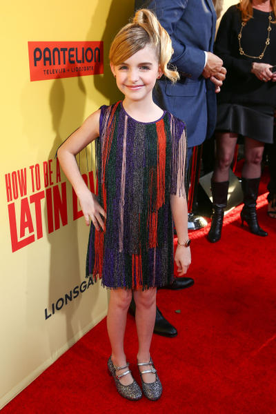 How to be a latin lover fandango mckenna grace at the california premiere of how to be a latin lover ccuart Image collections
