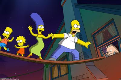 The Simpsons Movie Fandango