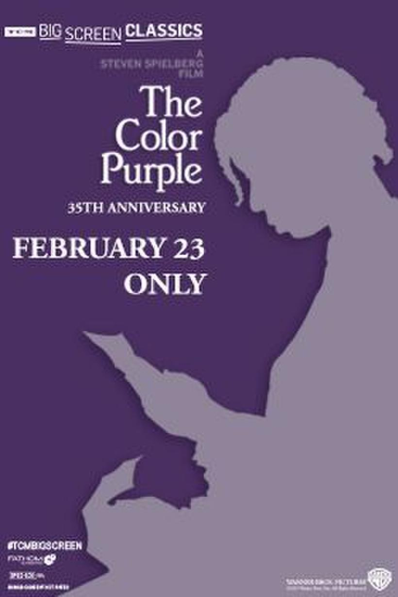"""Poster art for """"The Color Purple (1985) 35th Anniversary presented by TCM""""."""