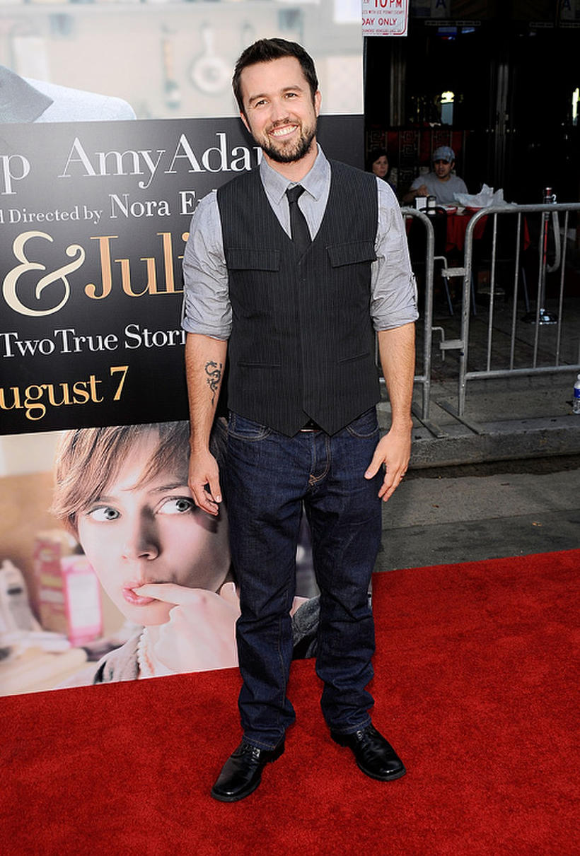 """Rob McElhenney at the California premiere of """"Julie & Julia."""""""