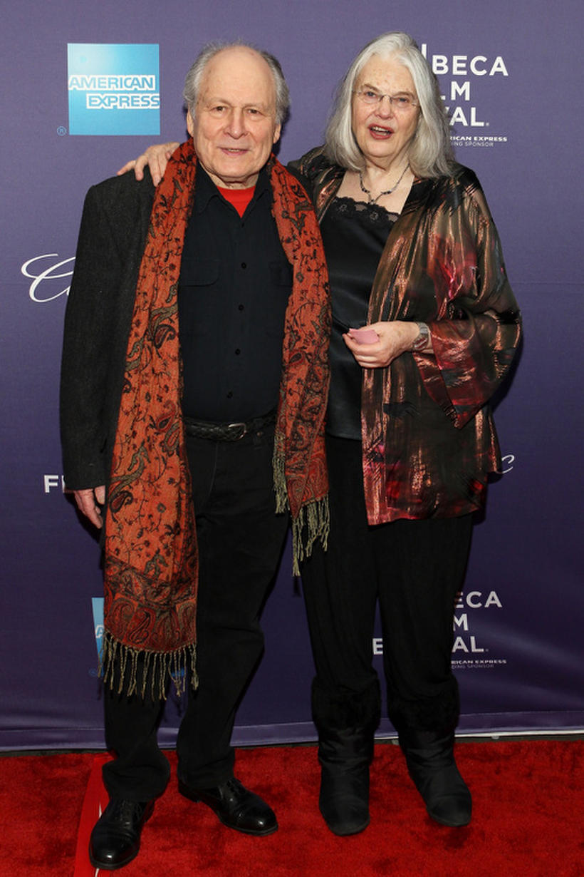"""David Margulies and Lois Smith at the premiere of """"Roadie"""" during the 2011 Tribeca Film Festival."""