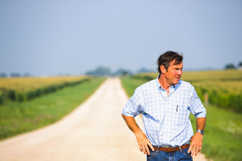 """Dennis Quaid as Henry in """"At Any Price."""""""