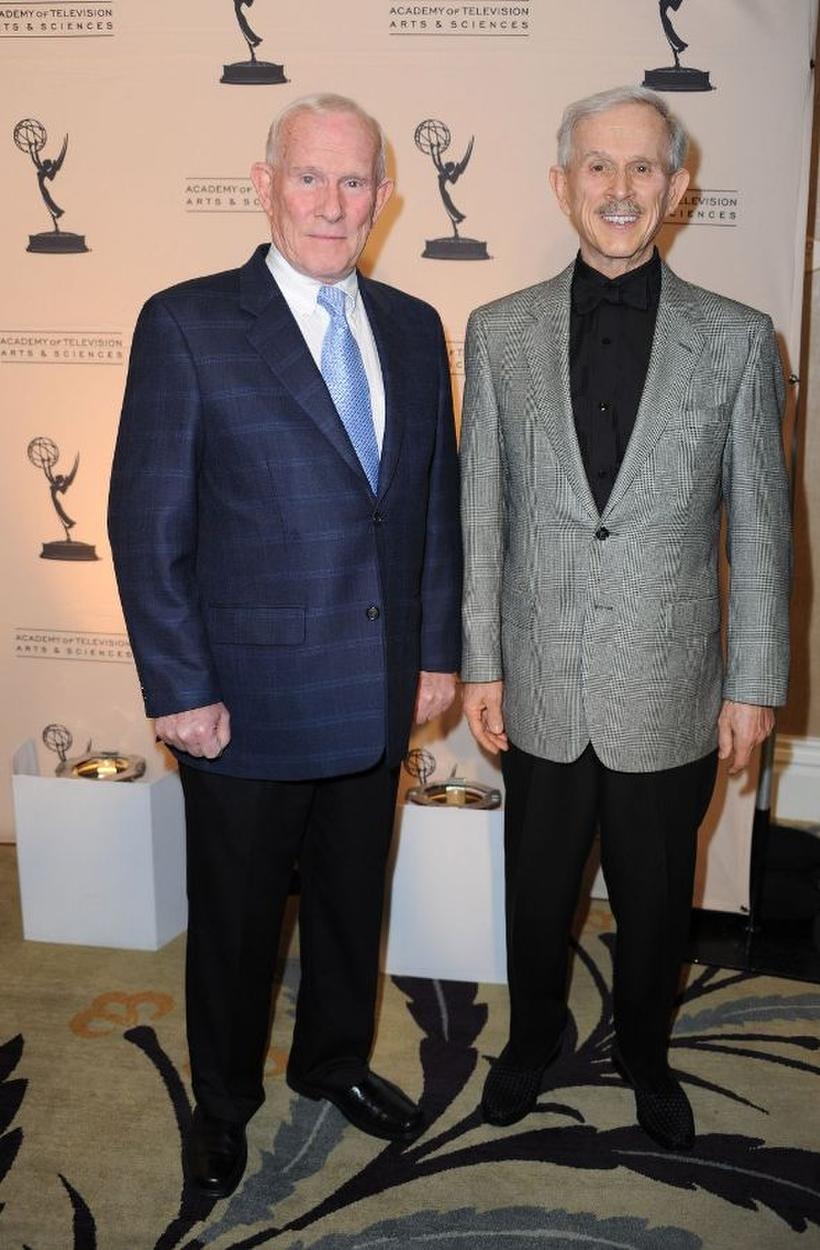 Tom Smothers and Dick Smothers at the Academy of Televison Arts and Sciences' 19th Annual Hall Of Fame Induction.