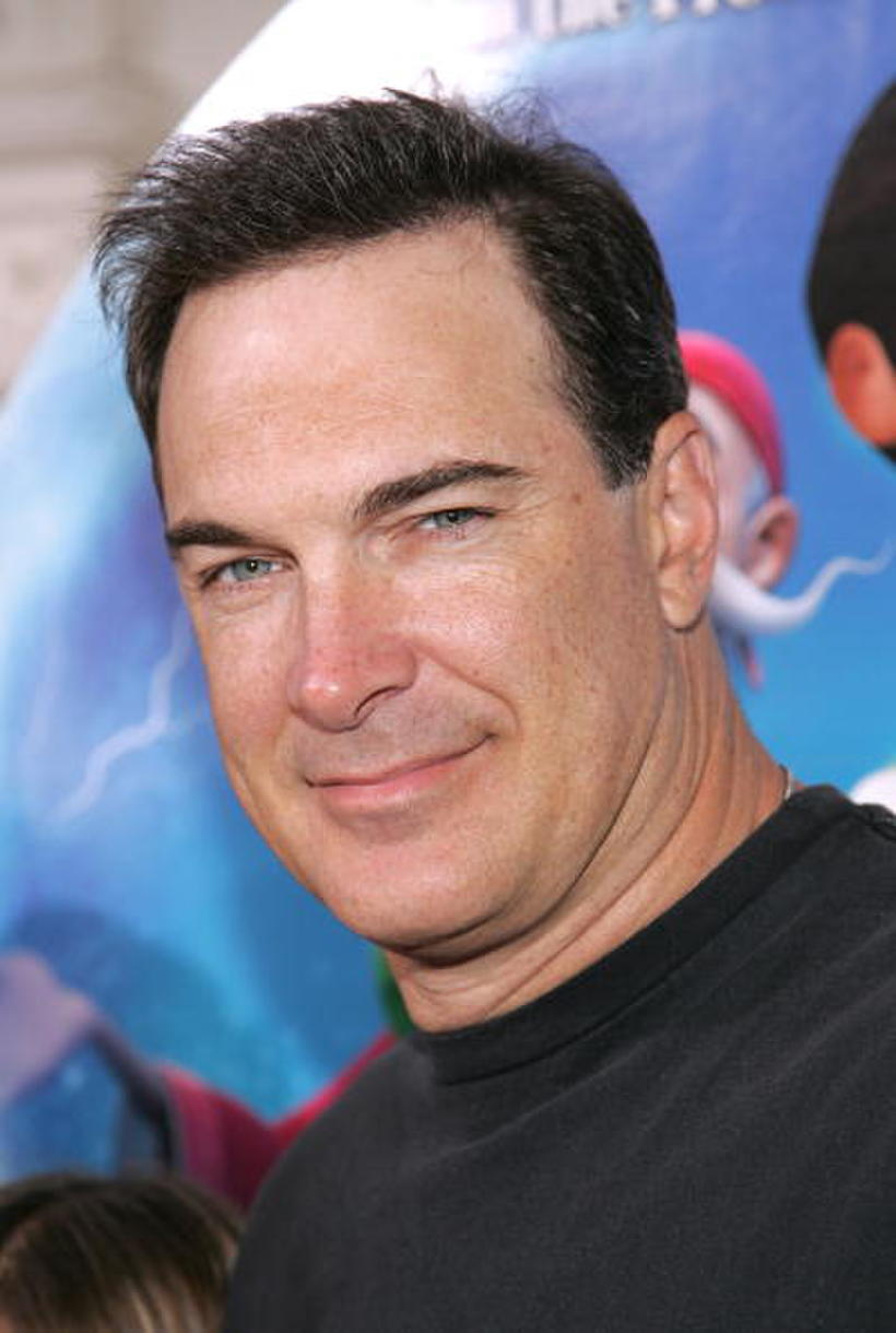 """Patrick Warburton at the L.A. premiere of """"Happily N' Ever After."""""""