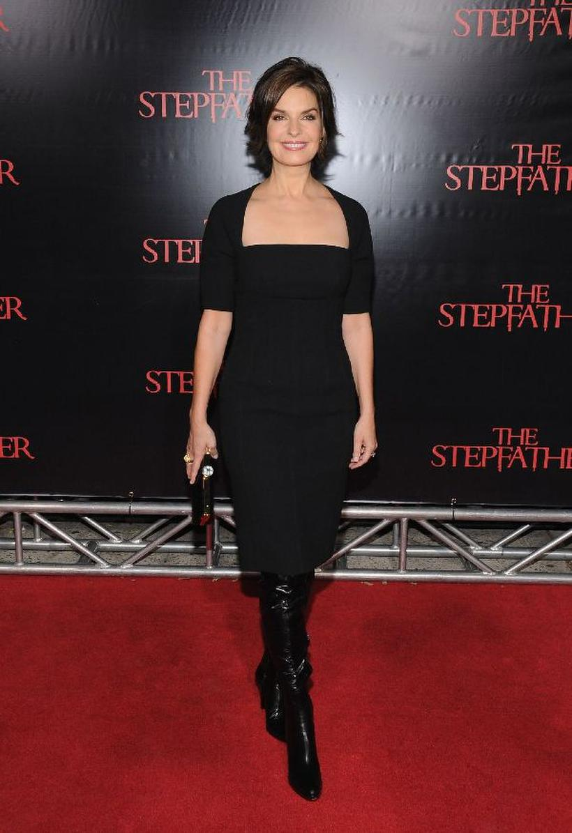 """Sela Ward at the New York premiere of """"The Stepfather."""""""
